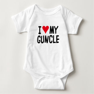 I Love My Guncle. Baby Bodysuit