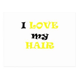 I Love My Hair Postcards