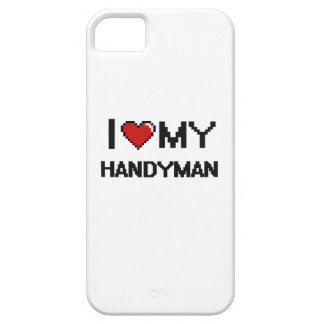 I love my Handyman Case For The iPhone 5