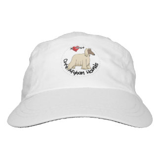 I Love My Happy Adorable Funny & Cute Afghan Hound Hat