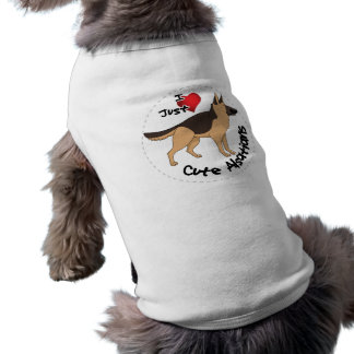 I Love My Happy Adorable Funny & Cute Alsatian Dog Shirt
