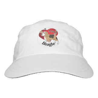 I Love My Happy Adorable Funny & Cute Beagle Dog Hat