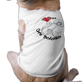 I Love My Happy Adorable Funny & Cute Bolonka Dog Shirt