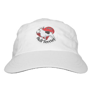 I Love My Happy Adorable Funny & Cute Bull Terrier Hat