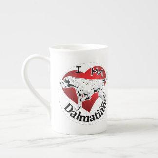 I Love My Happy Adorable Funny & Cute Dalmatian Tea Cup