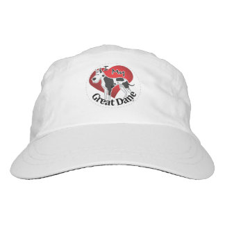 I Love My Happy Adorable Funny & Cute Great Dane Hat