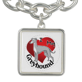 I Love My Happy Adorable Funny & Cute Greyhound