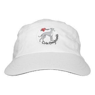 I Love My Happy Adorable Funny & Cute Greyhound Do Hat