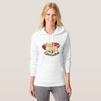 I Love My Happy Adorable Funny & Cute Labrador Dog Hoodie
