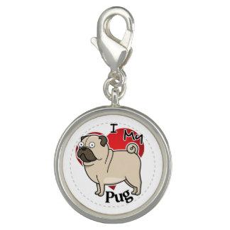 I Love My Happy Adorable Funny & Cute Pug Dog