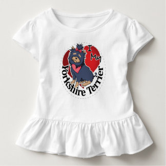 I Love My Happy Adorable Funny & Cute Yorkshire Te Toddler T-Shirt