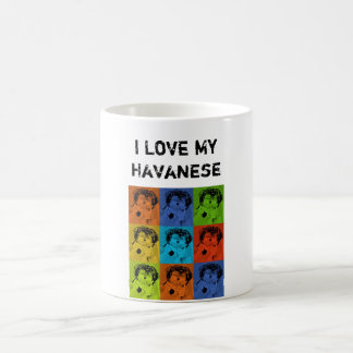 I Love My Havanese Coffee Mug