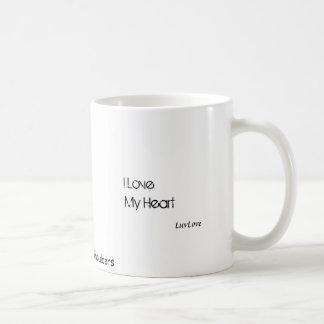 I love my heart, I thank my breath Coffee Mug