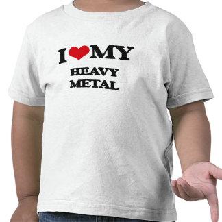 I Love My HEAVY METAL Tshirt
