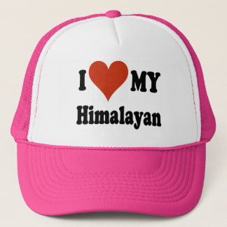 I Love My Himalayan Cat Gifts and Apparel Trucker Hat