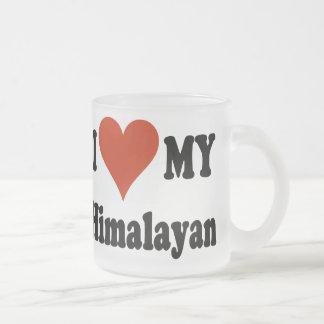 I Love My Himalayan Frosted Coffee Mug