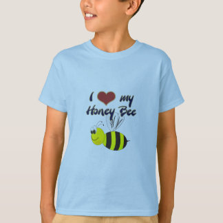 I Love my Honey Bee apparel and T-shirts