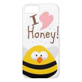 I LOVE MY HONEY iPhone 8/7 CASE