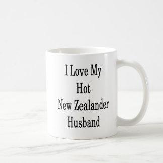 I Love My Hot New Zealander Husband Coffee Mug