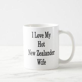 I Love My Hot New Zealander Wife Coffee Mug