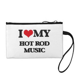 I Love My HOT ROD MUSIC Change Purse