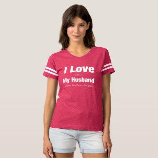 I Love My Husband Planner Supplies Shirt
