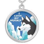 I love my Husky Necklace