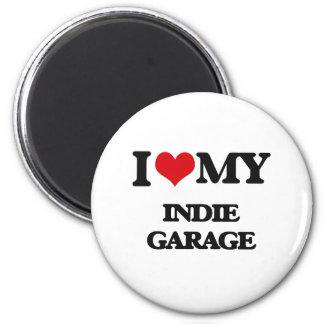 I Love My INDIE GARAGE Magnets