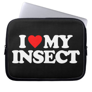 I LOVE MY INSECT LAPTOP SLEEVES