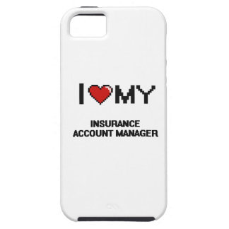 I love my Insurance Account Manager iPhone 5 Covers
