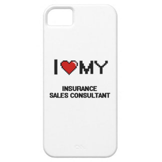 I love my Insurance Sales Consultant iPhone 5 Covers