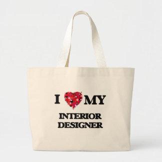 I love my Interior Designer Jumbo Tote Bag
