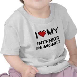 I love my Interior Designer Tee Shirt