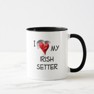 I Love My Irish Setter Mug