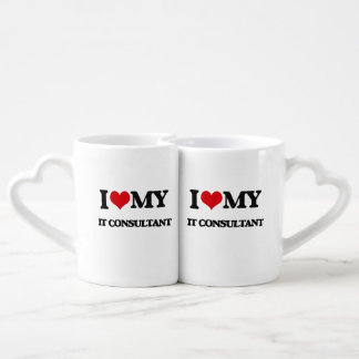 I love my It Consultant Lovers Mug Set