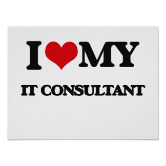 I love my It Consultant Print