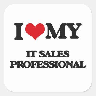 I love my It Sales Professional Stickers