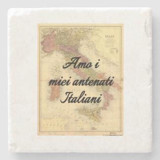 I Love My Italian Ancestors   Custom Coasters