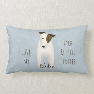 I love my Jack Russell Terrier reversible Lumbar Pillow