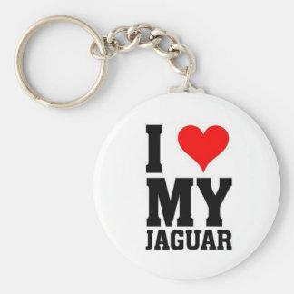 I love my Jaguar Basic Round Button Key Ring