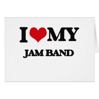 I Love My JAM BAND Cards