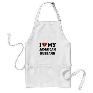 I love my Jamaican Husband Standard Apron