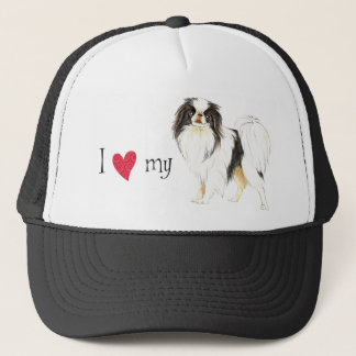 I Love my Japanese Chin Trucker Hat