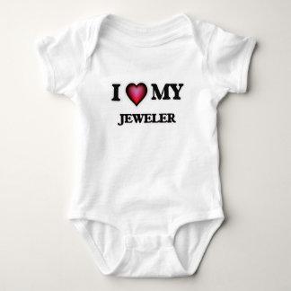 I love my Jeweler Baby Bodysuit