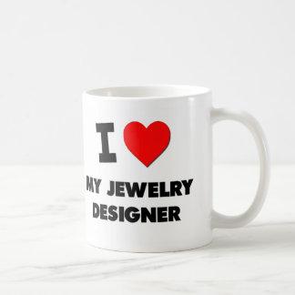 I love My Jewelry Designer Basic White Mug
