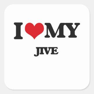 I Love My JIVE Sticker