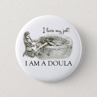 I love my job! Doula badge