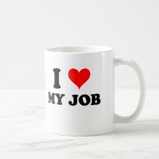 I Love My Job Mugs
