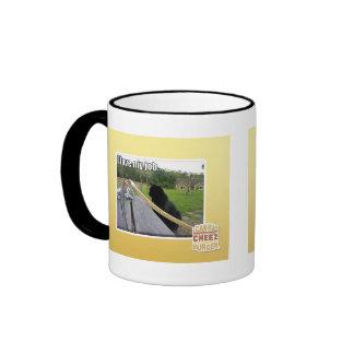 I love my job ringer mug