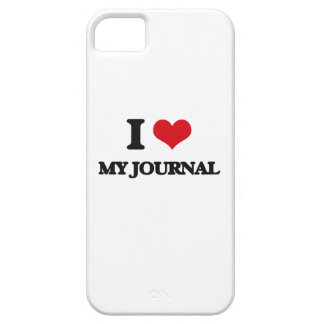 I Love My Journal iPhone 5 Cover